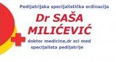 Pedijatrijska specijalistička ordinacija Dr Saša Milićević